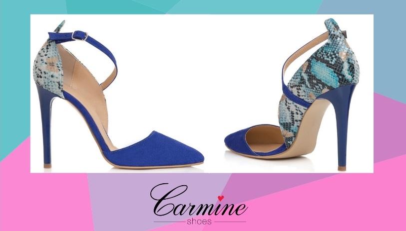 culorile anului in materie de pantofi - albastru egiptean