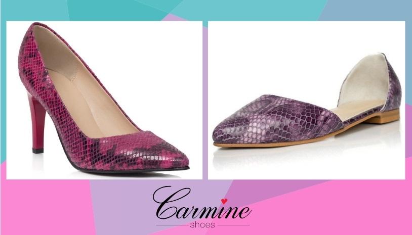 culorile anului 2019 in materie de pantofi - lila